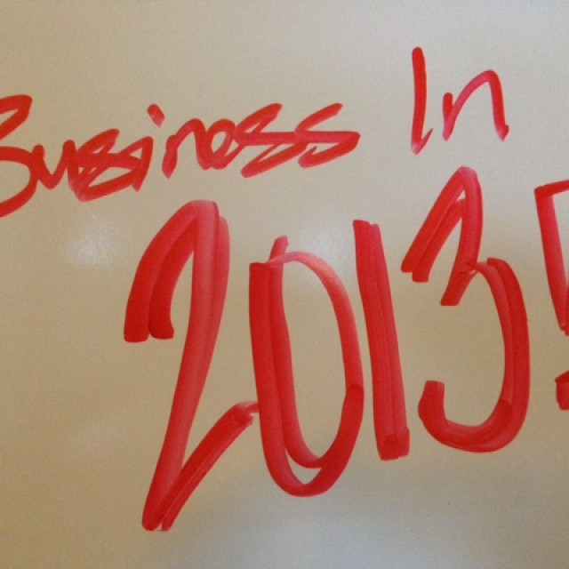 Business in 2013