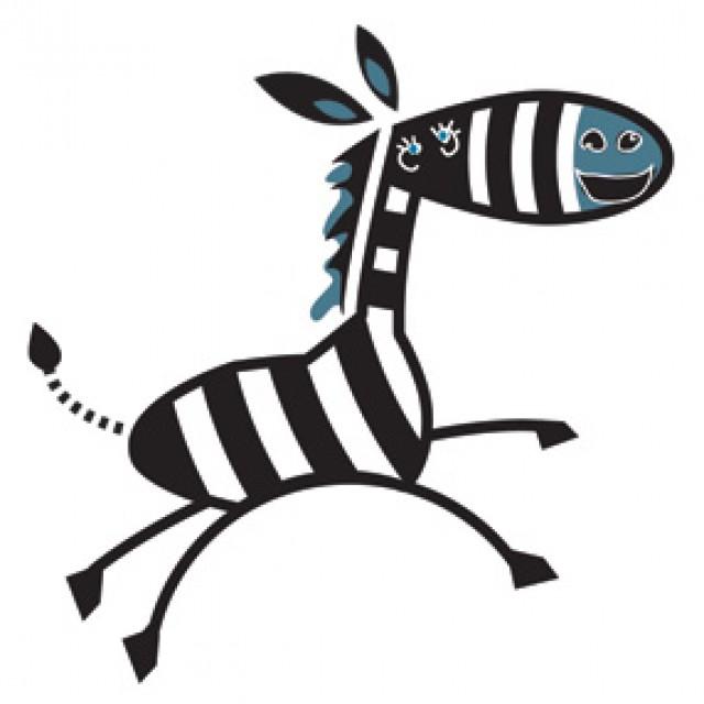 La zebra non ha stress